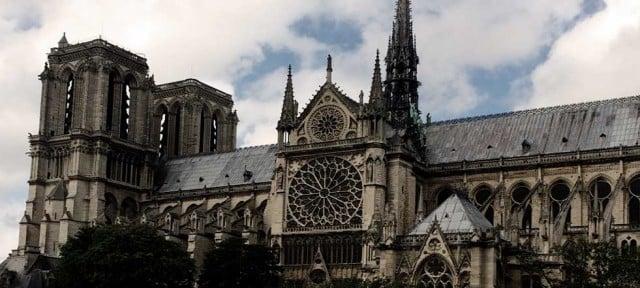 arquitectura gótica: la catedral de notre dame