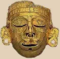 máscara precolombina