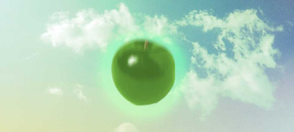Isaac Newton manzana