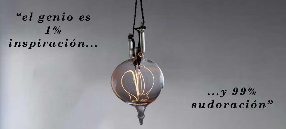 Edison y la lámpara eléctrica