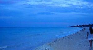 foto playa de cancun en ribiera maya