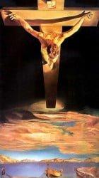 el cristo según Dalí