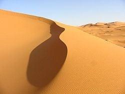 foto del desierto del sahara