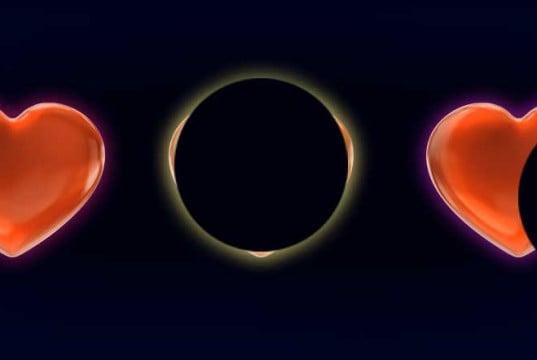 eclipse de corazón