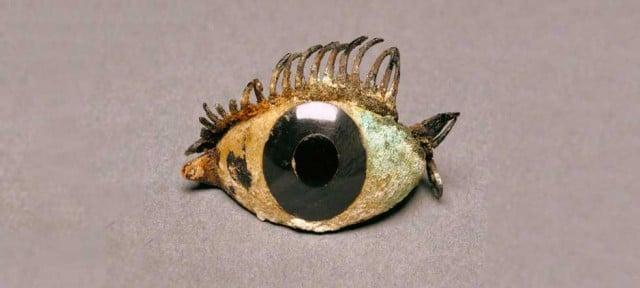 pieza de ojo griego, 500–100 aC