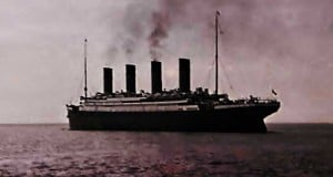 foto del titanic en ultramar