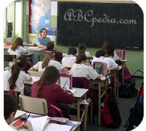 foto de alumnos en clase