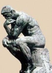 """""""el pensador"""", Rodin"""