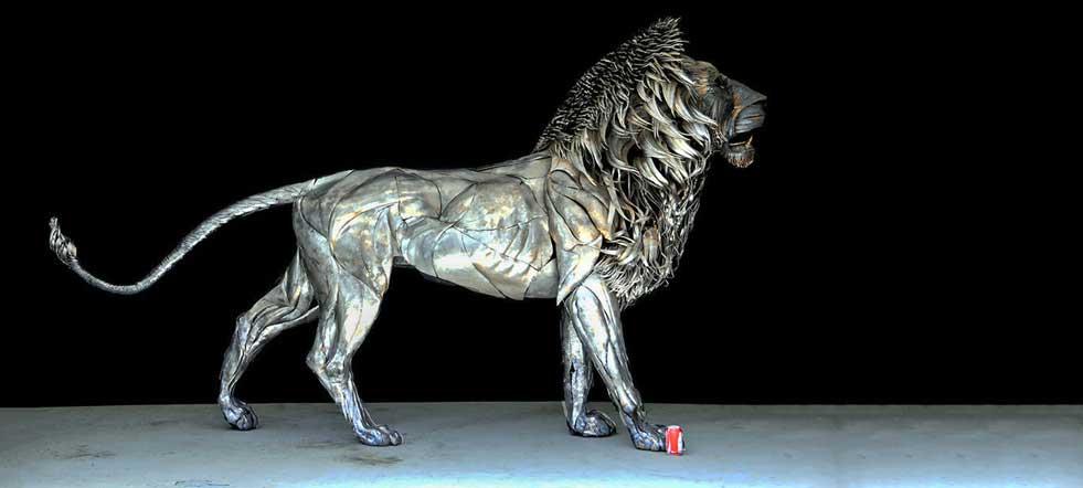 escultura moderna contemporánea