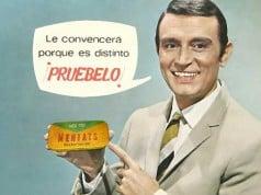 foto de un cartel publicitario clásico