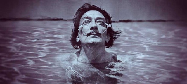 Salvador Dalí fotografía