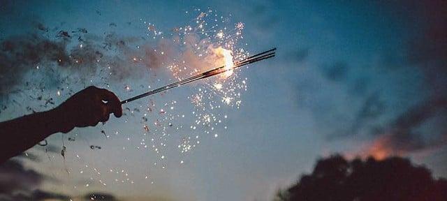 foto de fuegos artificiales