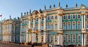 fachada del Ermitage en 360°