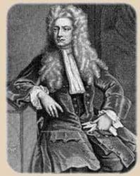 retrato de Newton