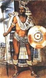 ilustración de Moctezuma