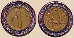 foto peso mexicano