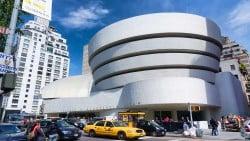 foto del museo Solomon Guggenheim