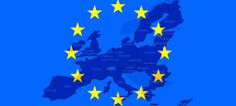 comunidades Europeas mapa