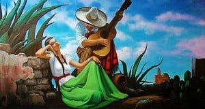 cuadro serenata mexicana