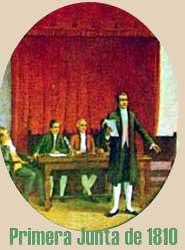 óleo de la primera junta argentina de 1810
