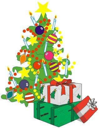 Dibujo Regalos de Navidad