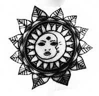 sol y luna pata tatuaje