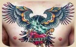 tatuaje clásico delos '60
