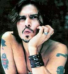 tatuajes del famoso johnny depp