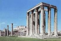 foto del templo de Zeus