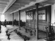 gimnasio del Titanic