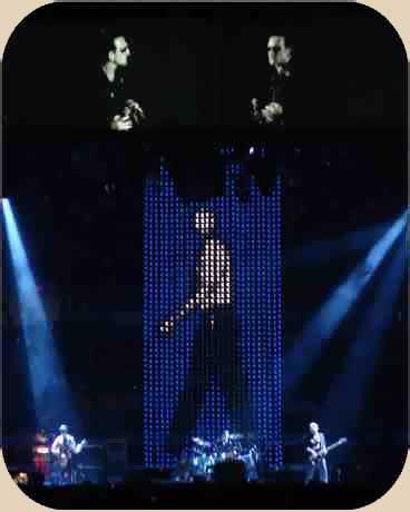 u2: Bono, The edge, Clayton, Adams, Mullen