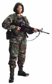 foto de uniforme militar moderno