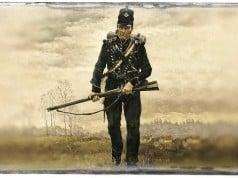 foto de un uniforme militar de época
