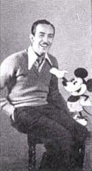 mickey mouse y walt disney