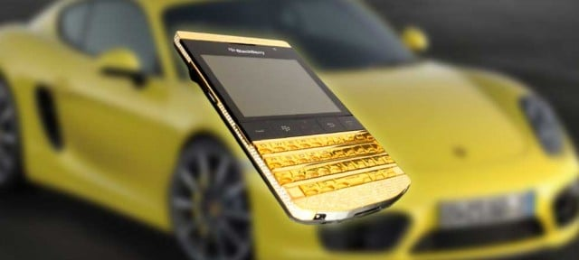 blackberry porsche color oro
