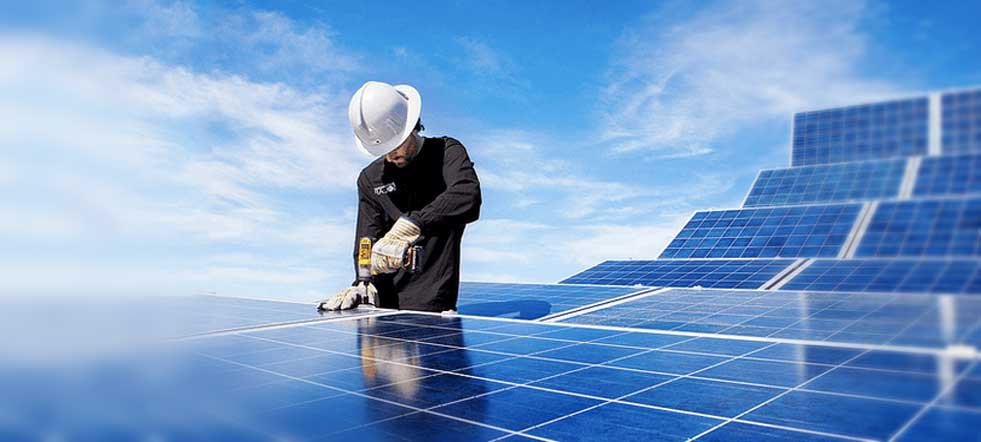 integración de paneles en techos y azoteas