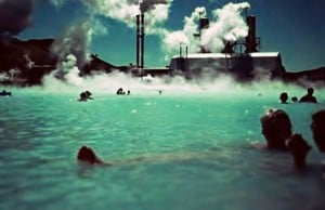 foto planta geotérmica