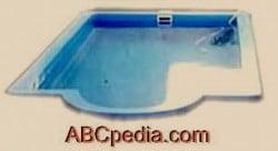 piscina de fibra de vidrio