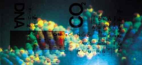 recorte de la tabla periódica enseñando los gases nobles