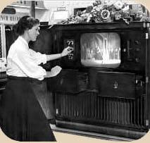 televisor a tubo antiguo