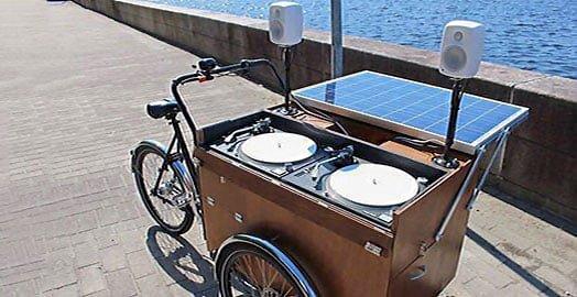 consola dj solar