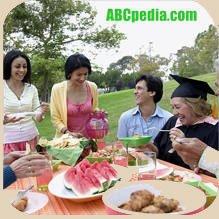picnic de estudiantes