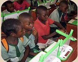 primera prueba de one laptop per child