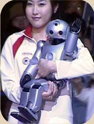 imagen robot con inteligencia artificial