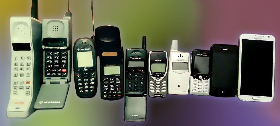 30 años de teléfonos móviles