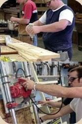 La carpintería de madera es uno de los oficios más antiguos de la humanidad
