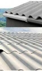 El fibrocemento acanalado es muy utilizado para la construcción de techos.