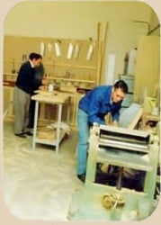 Conocer un taller para tomar consciencia de todos los tipos de maquinaria para madera que se emplean.