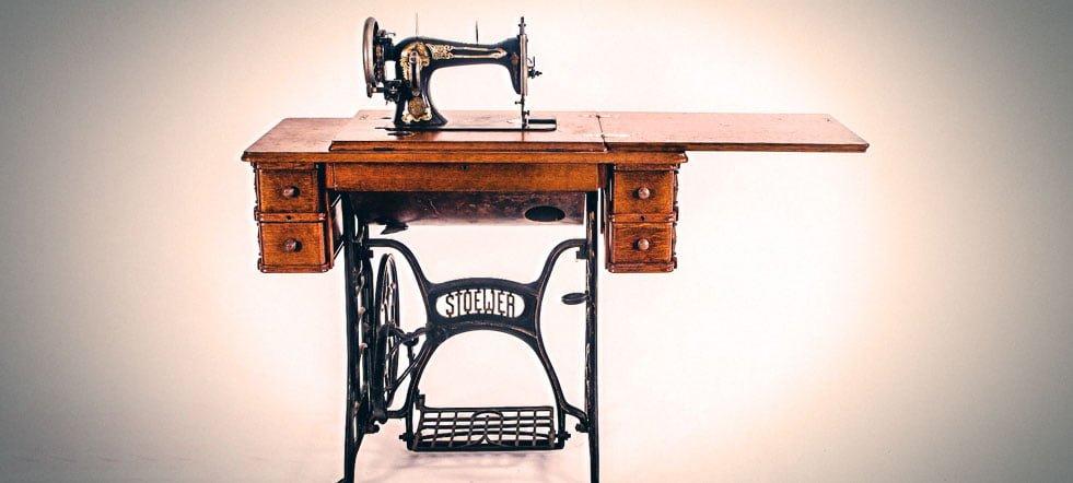 Las máquinas de coser: historia; domésticas e industriales