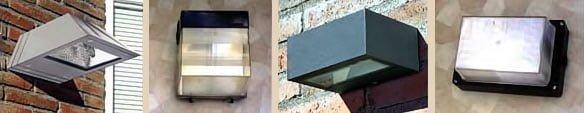 Diferentes modelos de lámparas para exterior resistentes a las inclemencias del clima